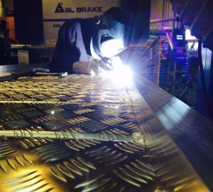 TIG svejnsing i aluminium